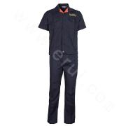 Short-Sleeved T/C Split Working Cloth