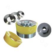 Replaceable Urethane Pistons|Sizes in Millimeters|With Piston Bore 50mm