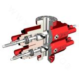 2FZ18-U double-ram blowout preventer