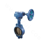 Wafer Connection Soft Seal Butterfly Valve