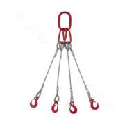 Four Legs Pressed Steel Wire Rope Sling