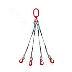 Four Legs Spliced Wire Rope Sling