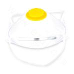 N95 Dust mask with filter