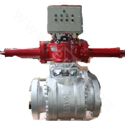 Gas-Hydraulic Hard Seal Ball Valve QT641Y